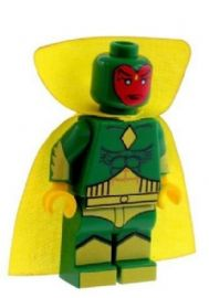 Vision (The Synthetic Humanoid Robot) - Custom Designed Minifigure